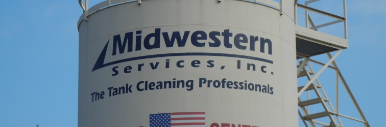midwestern services awarded the texas mutual safety trophy oil tank cleaning equipment
